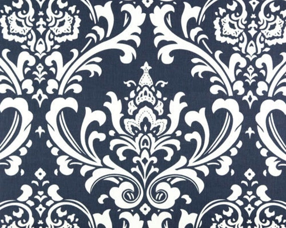 Premier Prints Ozbourne.....Blue/Twil.....Home Decor fabric by the yard