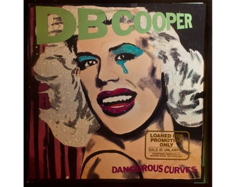 Glittered DB Cooper Dangerous Curves Album