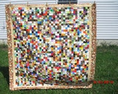 Cotton Patchwork Lap Quilt
