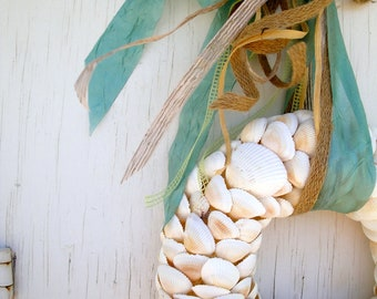 Seashell Wreath, A Gift From the Sea Wreath