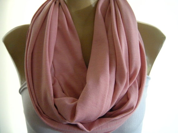 Last one..Soft Blush...Nomad Cowl.....Infinity Scarf..Relaxed version..Super soft.