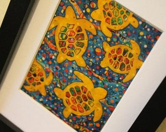 ACEO fine art Sea Turtle print