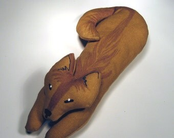 TOTEM COYOTE - Soft Plushie Toy Animals for Nature Table, Play or Collecting - Free Shipping Continental United States