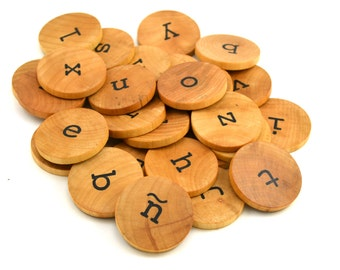 Spanish Montessori Alphabet - Educational Toy - Lowercase Letters