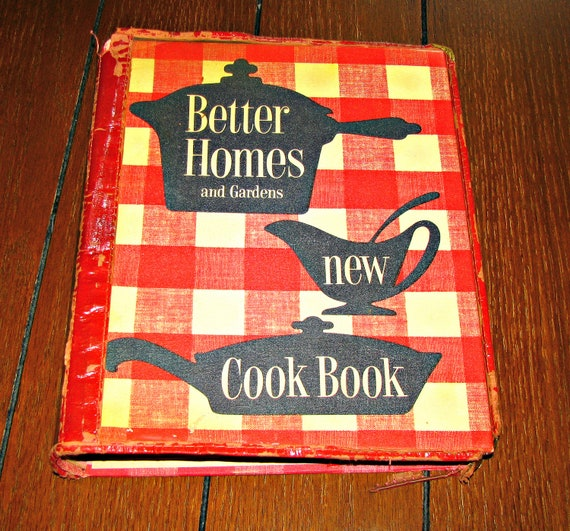 Items Similar To Better Homes And Gardens New Cook Book 1953 First Edition First Printing