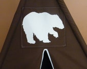Add an Applique to your Teepee