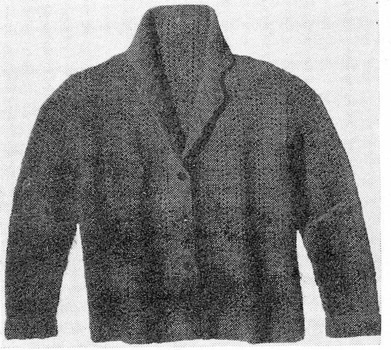 Cardigan Vintage Crochet Pattern Timeless Fashion