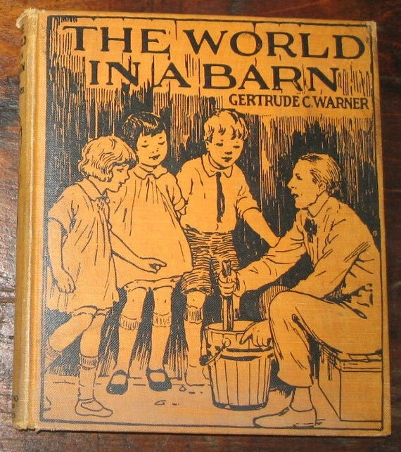 The World in a Barn Antique Children's Book 1927     Boxcar Children Series Author