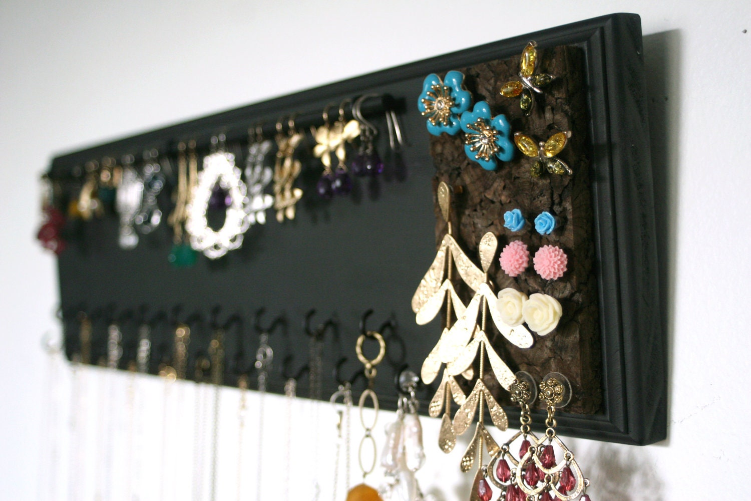 Popular items for wall mounted jewelry on Etsy