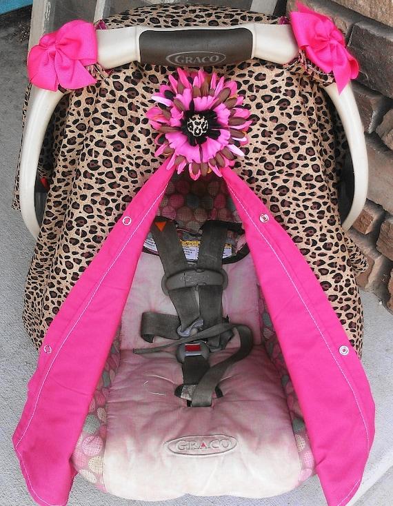 Cheetah Baby Car Seat Covers