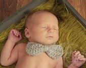 Crochet Bow tie, Crochet Bow tie Photography prop
