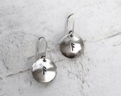 Sterling Rune Earrings