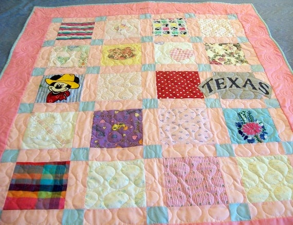 """Reserved for Holly B - Custom Baby Quilts Baby Size 36"""" x 42"""" (Final) Genevieve"""