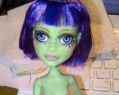 SALE Black Friday Weekend - OOAK Monster High Doll Custom Repaint