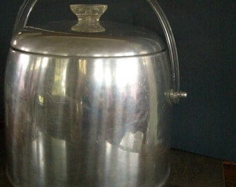Ice Bucket- Kromex MCM vintage Aluminium