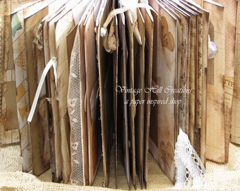 Wedding Guest Book, Photo Booth, Photo Strip - Vintage Elegant-  Custom - Vintage Shabby Primitive