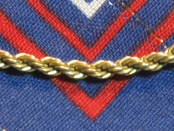 PIERRE CARDIN Rope Chain Necklace (N-3-1)