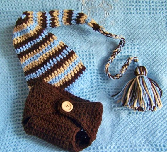 Baby Stocking Cap Photography Prop Set You Pick The Colors And Size Newborn To Tweleve Month