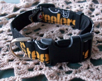 Pittsburgh Steelers Adjustable dog Collar