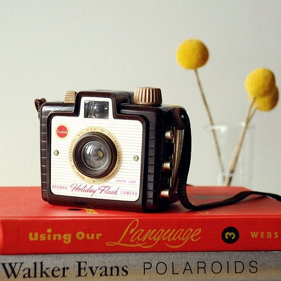 Vintage Kodak Brownie Holiday Camera - 1950's - Bakelite