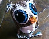 Great Horned Owl Hat Pattern