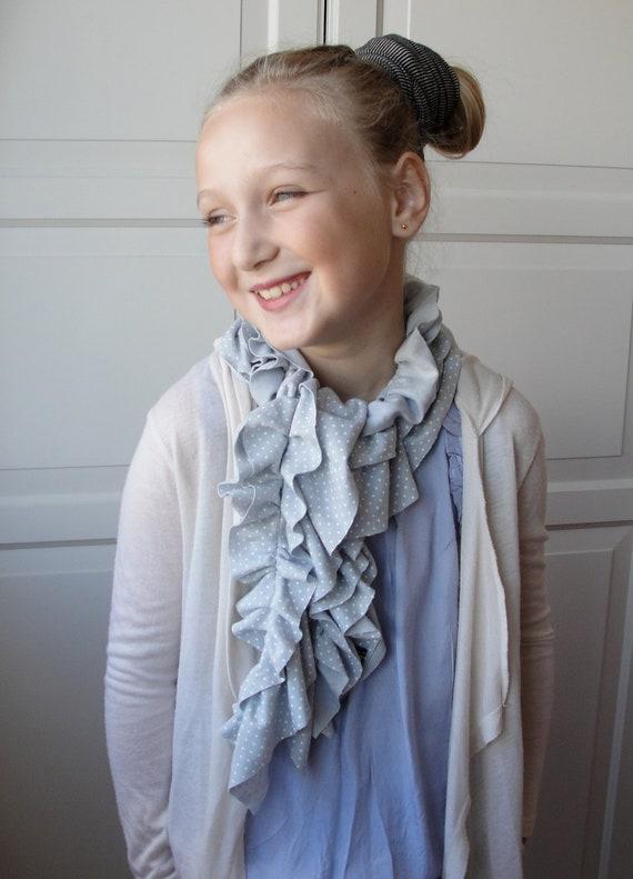 Custom Listing for Samantha - Mini RUFFLE scarf by FAIRYTALE13
