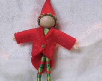 Elf Coat for small fairy dolls
