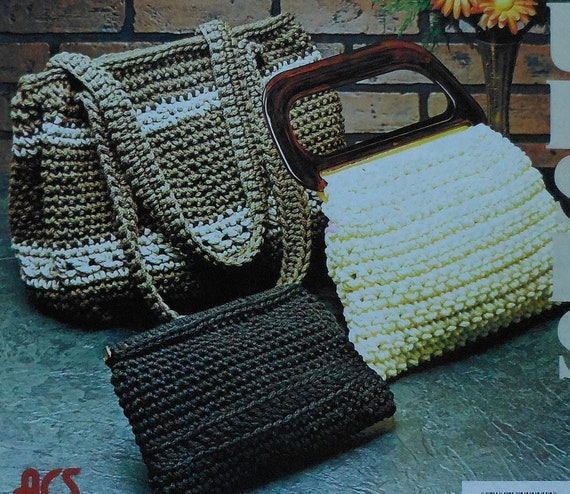Vintage Crochet Clutch Pattern : Unavailable Listing on Etsy