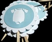 Baby Shower Cupcake Toppers For Boys