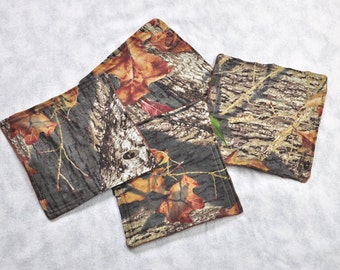 Baby Accessories Mossy Oak Baby Wash Cloths Wipes Infant Shower Gift Washcloths New Mom Gift, Made From Mossy Oak Fabric