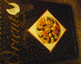 Oriental Party Food--1989 Edition--Little Handbook--New Cond--Great Gift--SALES-- 40-70% off  Book SALES
