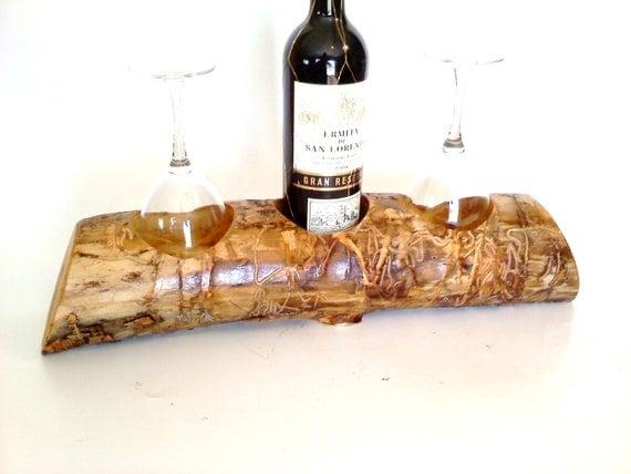 Tabletop Wine Rack in Colorado Aspen