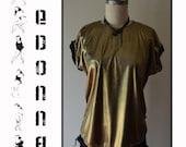 Stretch Gold Metalic Shirt
