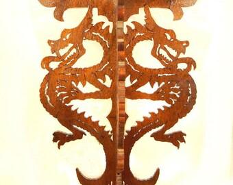 3 Dragon Wall Shelf