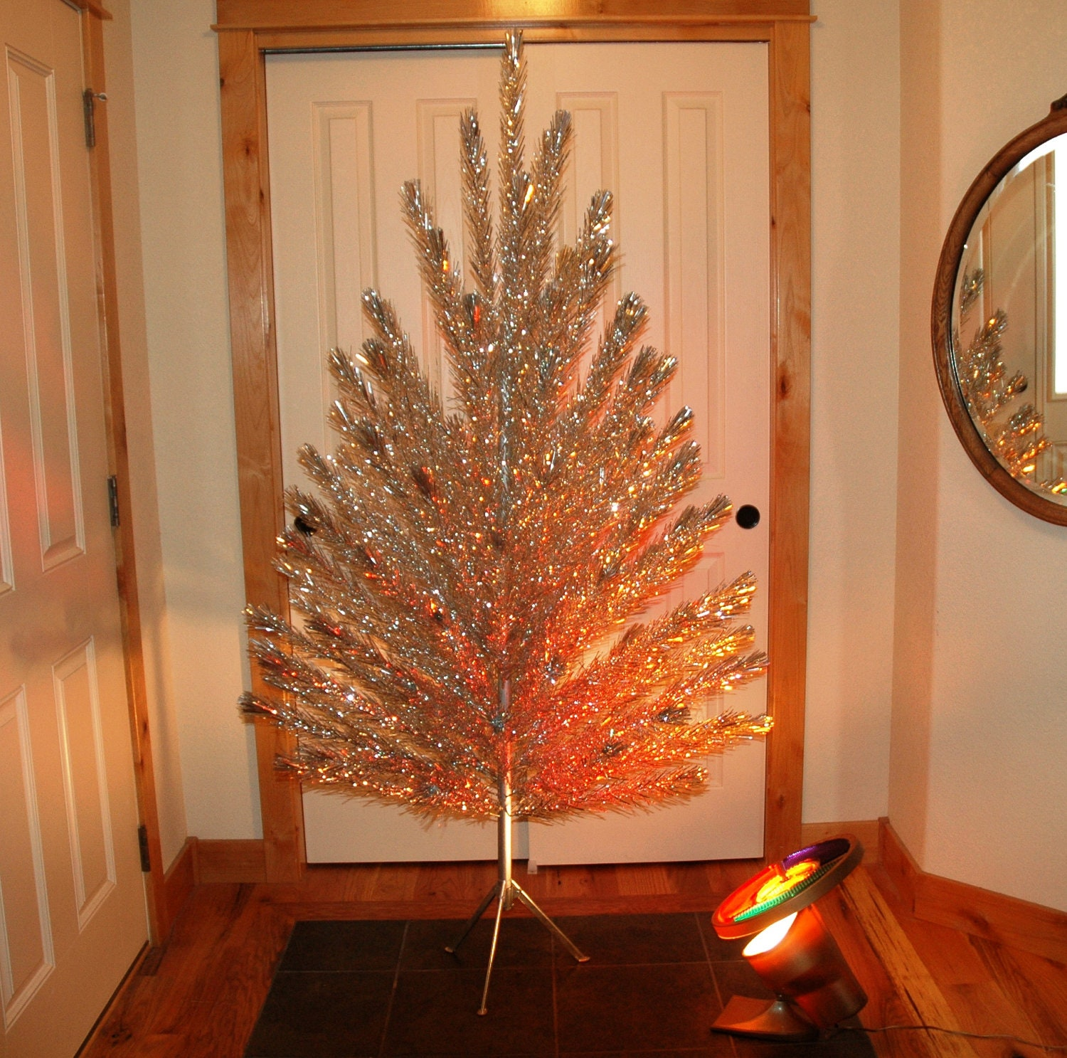 4 Foot Aluminum Christmas Tree