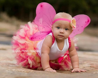 Baby Girl Costumes | Fairy Costumes | Halloween Costume Baby Girl | Baby Halloween Costume | Pink Fairy Tutu Costume | Fairy Birthday Dress