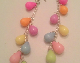 Pastel Eggs - Dangle Earrings