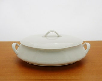 Vintage Whiteware Tureen