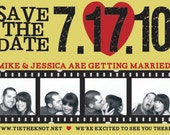 Heart Picture Photo Booth Save the Date