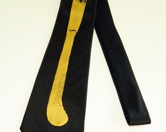 Vintage TIE- by DARE -Silk - Silk Screened- Great Condition