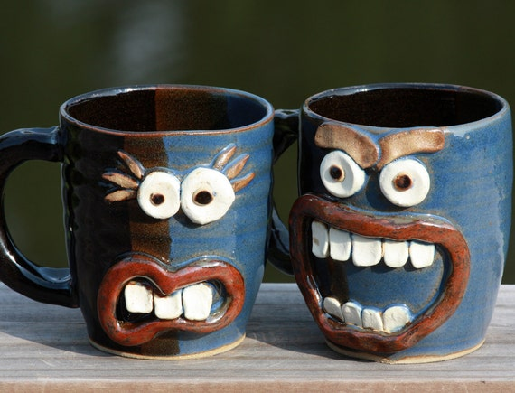 Fun Couples Gift. His and Hers Coffee Mugs