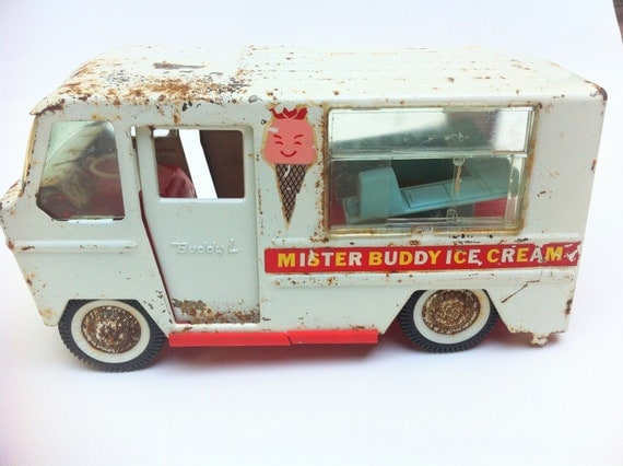 Vintage Mister Buddy Ice Cream Truck