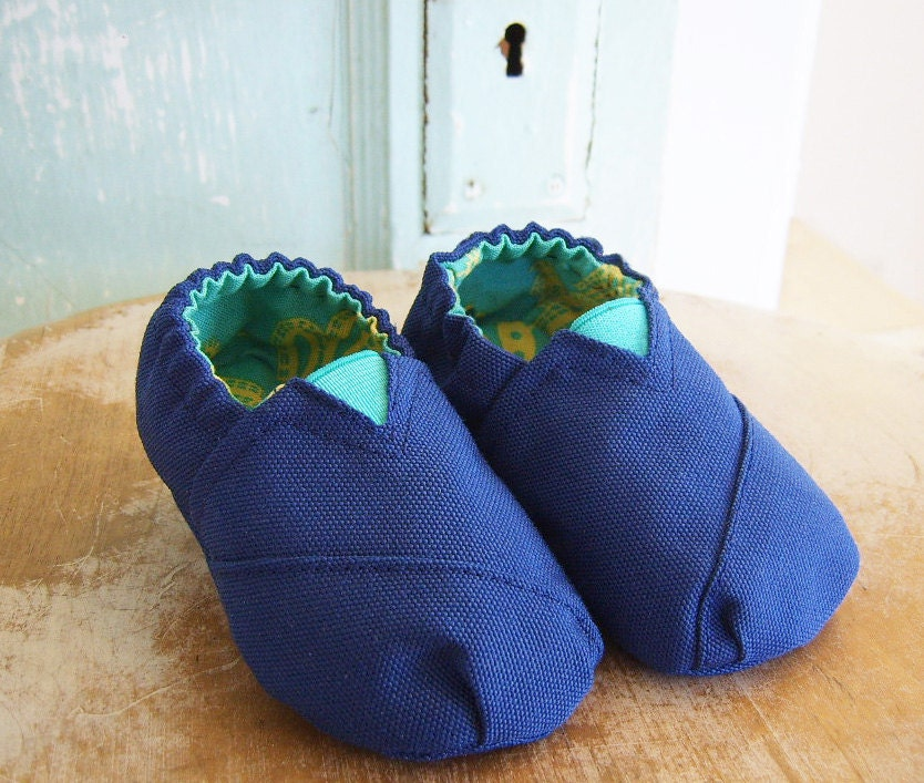 Canvas Baby Shoe Pattern PDF Size 3 month to 12 month
