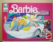 Vintage Spanish Barbie Board Game, 1990