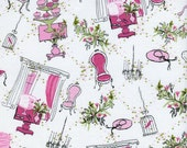 Sweet Jessie's Fabric Collection TT Vintage Birthday Party Girly Pink Paris Chic Boutique