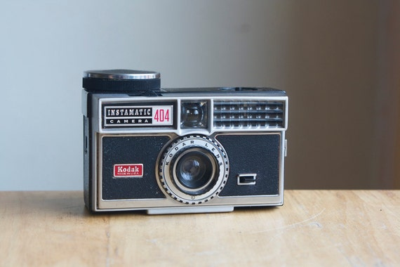 Working Camera, Kodak Instamatic 404, Cute Dorm Room Decor