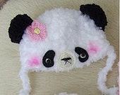 Panda bear Blythe hat other sizes please be free to contact me