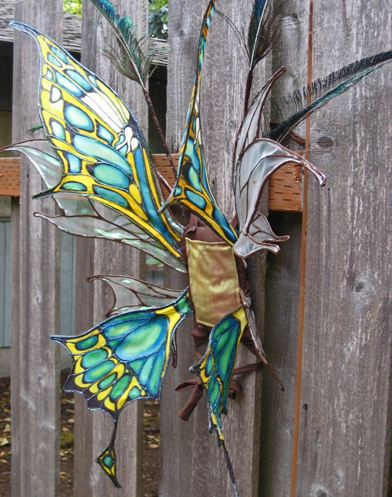 Malachite Faerie Wings