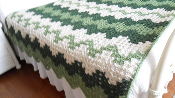 Free Crochet Pattern Queen Size Blanket : Crochet Afghan Queen Blanket Throw Bedspread by luvs2crochet