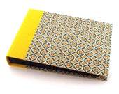 Photo Album retro lotus yellow teal